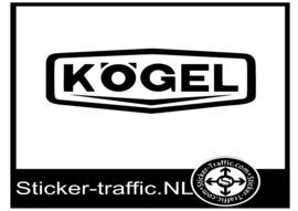 Kogel design 2 sticker