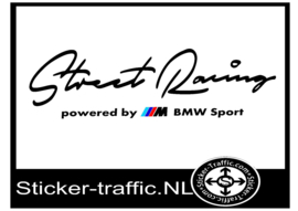 BMW Gekleurd Street Racing Sticker