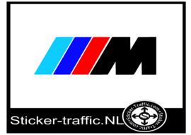 BMW M logo gekleurd sticker