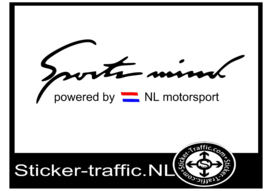 NL vlag  Sports Mind Sticker