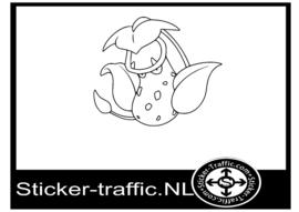 Pokemon Victreebel sticker