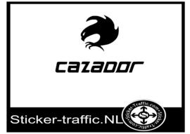 Cazador hockey sticker