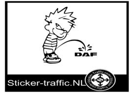 Calvin Daf sticker