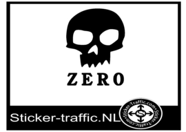 Zero skateboard sticker