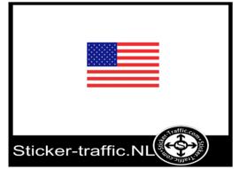 Amerikaanse vlag sticker