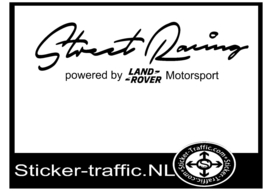 LAND-ROVER Street Racing Sticker