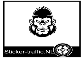 Gorilla design 2 sticker