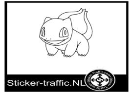 Pokemon Bulbasaur sticker