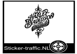 Harley Davidson design 23 sticker