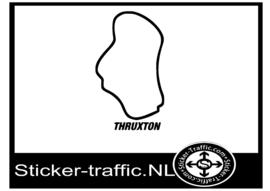Truxton circuit sticker
