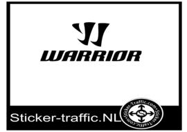 Warrior hockey sticker