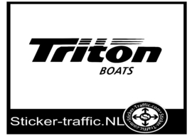 Triton boats sticker