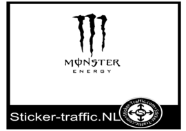 Monster energie design 3 sticker