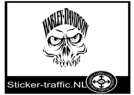 Harley Davidson design 24 sticker