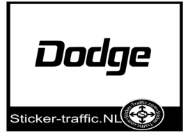 Dodge sticker