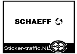 Schaeff sticker