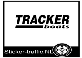 Tracker boats sticker