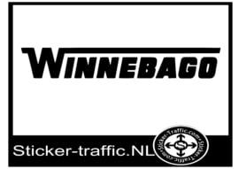 Winnebago caravan sticker