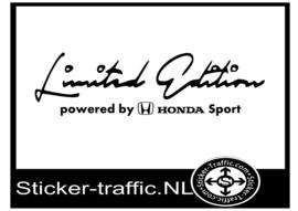 HONDA Limited Edition Sticker