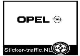 Opel sticker