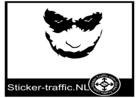 Joker design 2 sticker