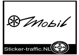 Karmann mobil logo caravan sticker