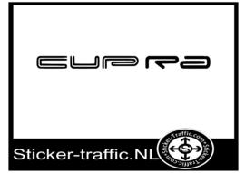 Seat Cupra sticker