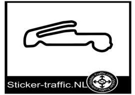 Leipzig Porsche testing centre 3 circuit sticker