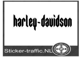 Harley Davidson design 14 sticker