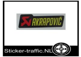 Akrapovic Fullcolour sticker