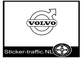 Volvo design 2 sticker