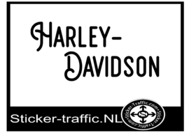 Harley Davidson design 37 sticker