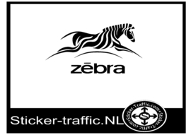 Zebra design 1 sticker