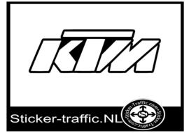 KTM design 1 sticker