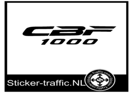 Honda CBF1000 sticker