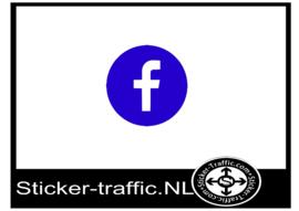 Facebook design 4 sticker