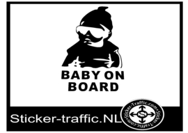 Baby on board design 15 sticker