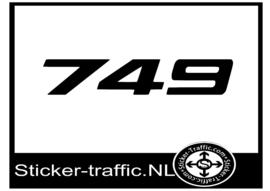Ducati 749 sticker