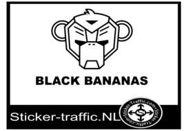 Black Bananas sticker