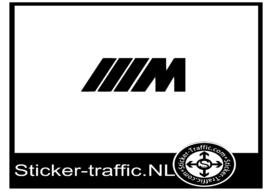 BMW M logo sticker