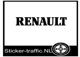 Renault sticker