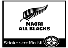 New Zealand Maori all blacks sticker