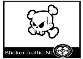 Skull design 7 sticker