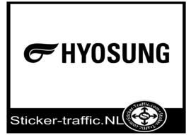 Hyosung met logo sticker
