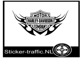 Harley Davidson design 32 sticker