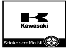 Kawasaki logo design 2 sticker