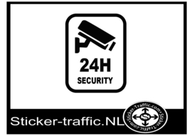 24H security sticker