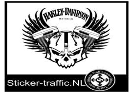 Harley Davidson design 26 sticker
