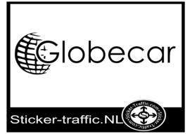 Globecar caravan sticker