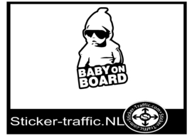 Baby on board design 10 sticker